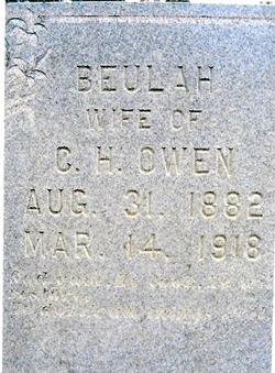 Beulah V <i>Butler</i> Owen