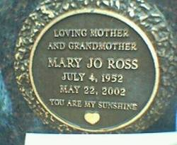 Mary Jo <i>Adams</i> Ross