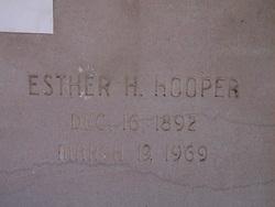 Esther H. Hooper