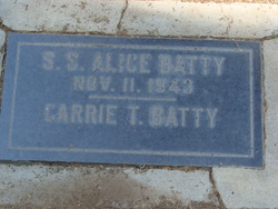 Carrie Tryphena <i>Walter</i> Batty