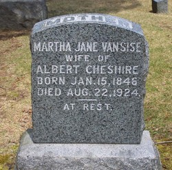 Martha Jane <i>Van Sise</i> Cheshire