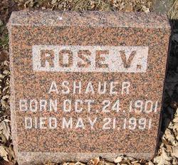 Rose V Ashauer
