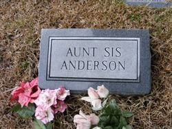 Aunt Sis Anderson