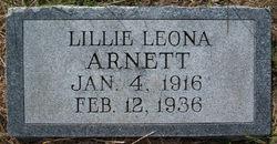 Lillie Leona <i>Barton</i> Arnett