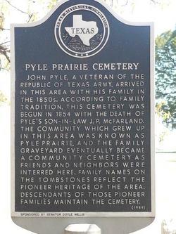 Pyle Prairie Cemetery
