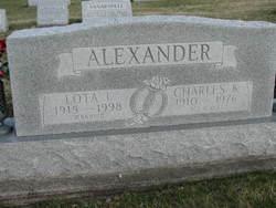 Lota Iney <i>Pruett</i> Alexander