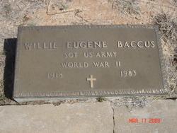 Willie Eugene Baccus