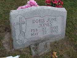 Doris June <i>Overstreet</i> Jones
