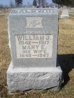 Mary Elizabeth <i>Lowe</i> Baldwin