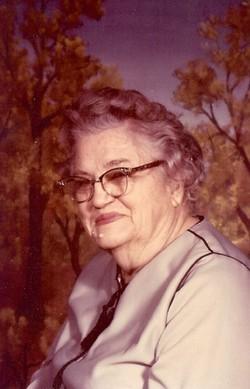 Myrtle Maggie Jane <i>Sullenger</i> Chambless
