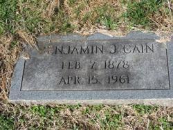 Benjamin Joseph Cain