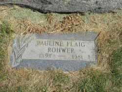 Pauline <i>Flaig</i> Rohwer