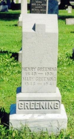 Mary <i>Chapin</i> Greening