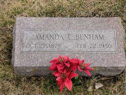 Amanda Elizabeth <i>Zook</i> Benham