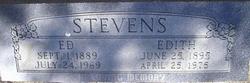 Edith Edna <i>Webb</i> Stevens