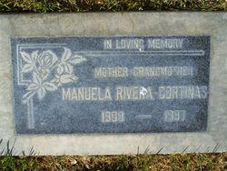 Manuela <i>Rivera</i> Cortinas