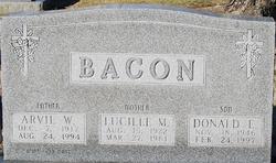 Donald E Bacon