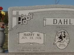 Harry M. Dahl