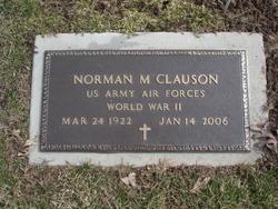 Norman Millard Clauson, Sr