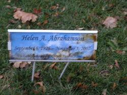Helen A. Abrahamson