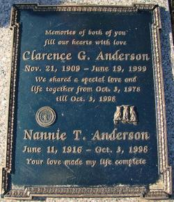 Clarence G. Anderson