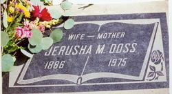 Jerusha Missouri <i>Osburn</i> Doss