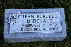 Jean <i>Purcell</i> McDonald