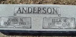 Ella Marie <i>Allensworth</i> Anderson