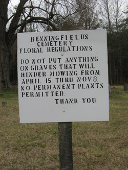 Benningfield Cemetery