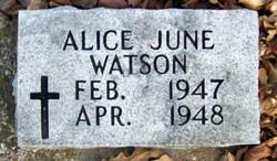 Alice June Watson