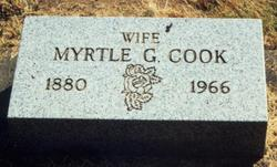 Myrtle Gertrude Nano <i>Smith</i> Cook