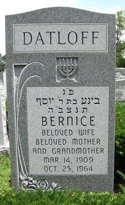 Bernice Datloff