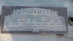 Orson William Adams, Sr