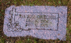 Eva Rose <i>Stickney</i> Churchill