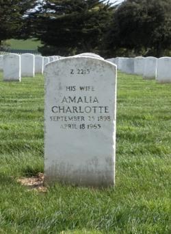 Amalia Charlotte <i>Hamburger</i> Ackerman