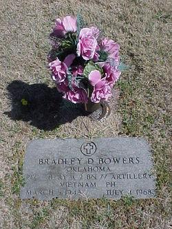 PFC Bradley D. Bowers