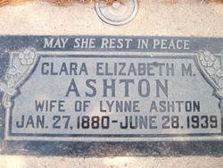 Clara Elizabeth <i>Marshall</i> Ashton