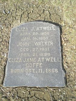 Eliza Jane <i>Gordon</i> Atwell