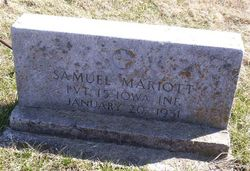 Pvt Samuel J. Marriott