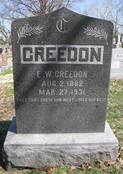 Edward William Creedon