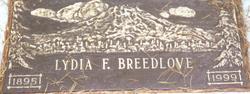Lydia Fredia <i>Johns</i> Breedlove