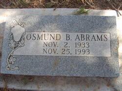 Osmund B Abrams