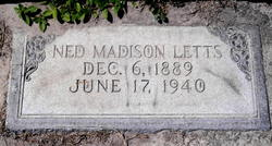 Ned Madison Letts