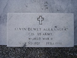 Alvin D. Alexander
