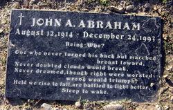 John August Abraham