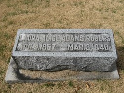 Laura Alice <i>Adams</i> Rogers