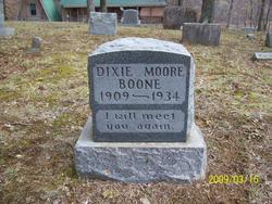 Dixie <i>Moore</i> Boone