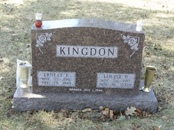 Ernest E Kingdon
