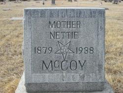 Mary Janette Nettie <i>Wheeler</i> McCoy