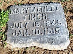 Mary Matilda <i>Finch</i> Brissenden